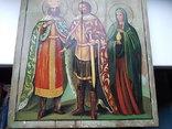 Икона Святой Константин Князь Александръ и Святая Мария photo 4