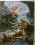 """""""Пещера штормовых нимф"""" Эдвард  Джон  Пойнтер (копия)., фото №2"""