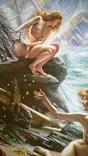 """""""Пещера штормовых нимф"""" Эдвард  Джон  Пойнтер (копия)., фото №4"""