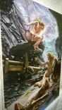 """""""Пещера штормовых нимф"""" Эдвард  Джон  Пойнтер (копия)., фото №7"""