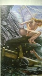 """""""Пещера штормовых нимф"""" Эдвард  Джон  Пойнтер (копия)., фото №9"""
