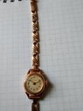 Золотые часы Волга 583, фото №4