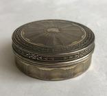 Табакерка. Серебро, 950. Франция. photo 2