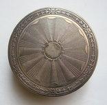Табакерка. Серебро, 950. Франция. photo 7