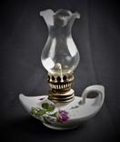 Лампа фарфоровая керосиновая масляная