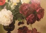 "Натюрморт ""Букет в бронзовой вазе"" 70х75 см, х/м, Костенко А.С. photo 3"