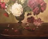 "Натюрморт ""Букет в бронзовой вазе"" 70х75 см, х/м, Костенко А.С. photo 6"