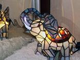 Светильник в стиле «Тиффани». Винтаж. Европа. photo 5