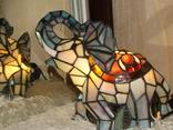 Светильник в стиле «Тиффани». Винтаж. Европа. photo 6