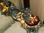 Светильник в стиле «Тиффани». Винтаж. Европа. photo 8