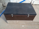 Ящик,кейс оббитый дермонтином и пленкой