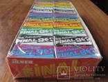 Запечатанный блок жвачек Final 90, фото №5
