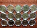 1 гривна 1996 - 10шт., 1 гривна 2004 - 5шт. photo 2