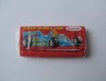 Нераспечатанная жвачка Турбо 1990 года, 2-ая серия (вкладыш с 51 по 120), фото №3