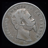 Эмилия Романа 1 лира 1860 Firenza серебро