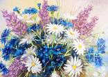 Картина, Летнее настроение, 25х30 см. живопись, холст, с подписью, отличный подарок, декор photo 3