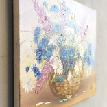 Картина, Летнее настроение, 25х30 см. живопись, холст, с подписью, отличный подарок, декор photo 4