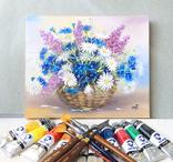 Картина, Летнее настроение, 25х30 см. живопись, холст, с подписью, отличный подарок, декор photo 5