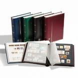 Альбом для марок Comfort с 32 листами из черного картона, А4, зеленый. Leuchtturn. 306438