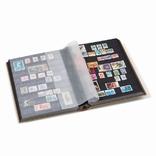 Альбом для марок Comfort с 32 листами из черного картона, серебро.358059 фото 2