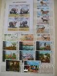 "Более 260 марок,25 бл.,мл, темы ""Фауна,флора"" в альбоме photo 9"