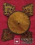 """164. Портретная миниатюра """"Девушка в шляпе"""", живопись на фарфоре, позолота, XIX век photo 11"""