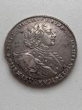 Рубль 1723 года Тигровик photo 1