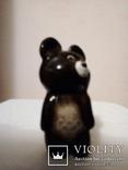 Олимпийский мишка 1980 керамика( отличное состояние), фото №2