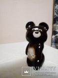 Олимпийский мишка 1980 керамика( отличное состояние), фото №3