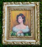 Портрет  подписной, послевоенная Европа, фото №2