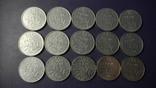 1/2 франка Франція (порічниця) 15шт, всі різні, фото №2