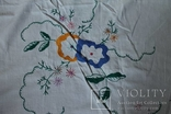 Скатерть на стол с богатой вышивкой №2 (З), фото №5