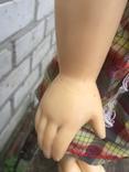 Кукла паричковая СССР 59 см, фото №4