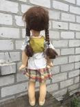 Кукла паричковая СССР 59 см, фото №8