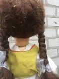 Кукла паричковая СССР 59 см, фото №9