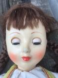 Кукла паричковая СССР 59 см, фото №11