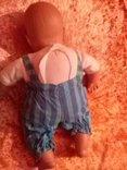 Спящий младенец от Lissy Batz голова руки, ноги Целлулоид, тело мягкое, фото №3