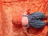 Спящий младенец от Lissy Batz голова руки, ноги Целлулоид, тело мягкое, фото №4