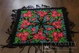 Шерстяной старинный платок №110, фото №2