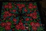 Шерстяной старинный платок №110, фото №3