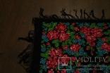 Шерстяной старинный платок №110, фото №6