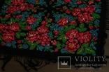 Шерстяной старинный платок №110, фото №7