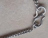 Серебряное колье с аметистом, фото №10