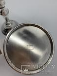 Парные подсвечники Англия Серебрение photo 2