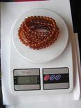Янтарные бусы 50 грамм, фото №5