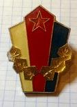 Знак советская Югославия, на винте, фото №2