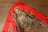 Шерстяной старинный платок№219, фото №12