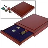 Деревянный бокс для значков, орденов, медалей - Safe Exquisite. D-6860 фото 1