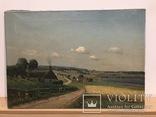 Картина Сельской Пейзаж, 1923. Автор FE. Привезена из Дании
