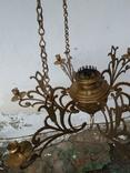 Люстра бронзовая в стиле модерн, фото №4